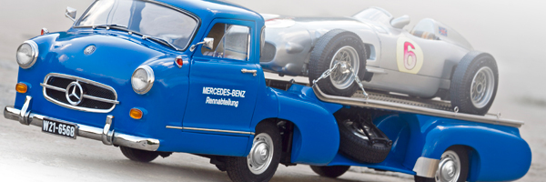 Mercedes Benz The Blue Wonder