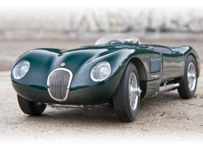 Jaguar C-Type CMC 1/18