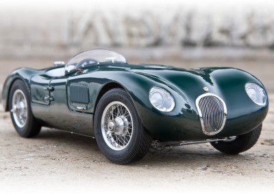Jaguar C-Type CMC 1/18